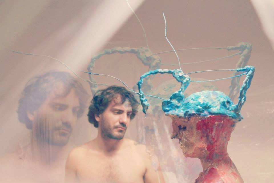 """""""S-Cultura - Androgino"""". in collaboazione con Damiana Ardito. Bizzarro Festival, """"Privato non Convenzionale"""", a cura di Mondo Bizzarro Gallery. Abitazione privata, Roma, 28 Settembre 2014"""
