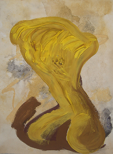 """Della serie """"Embrioni neoclassici"""". Cristiano Quagliozzi Roma 2010"""