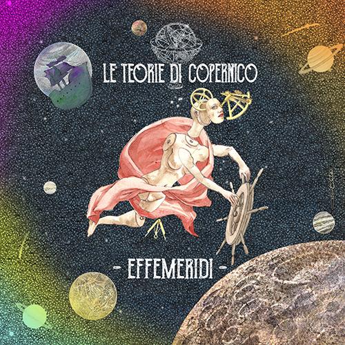 """Disegno per il CD """"Le Teorie di Copernico"""""""