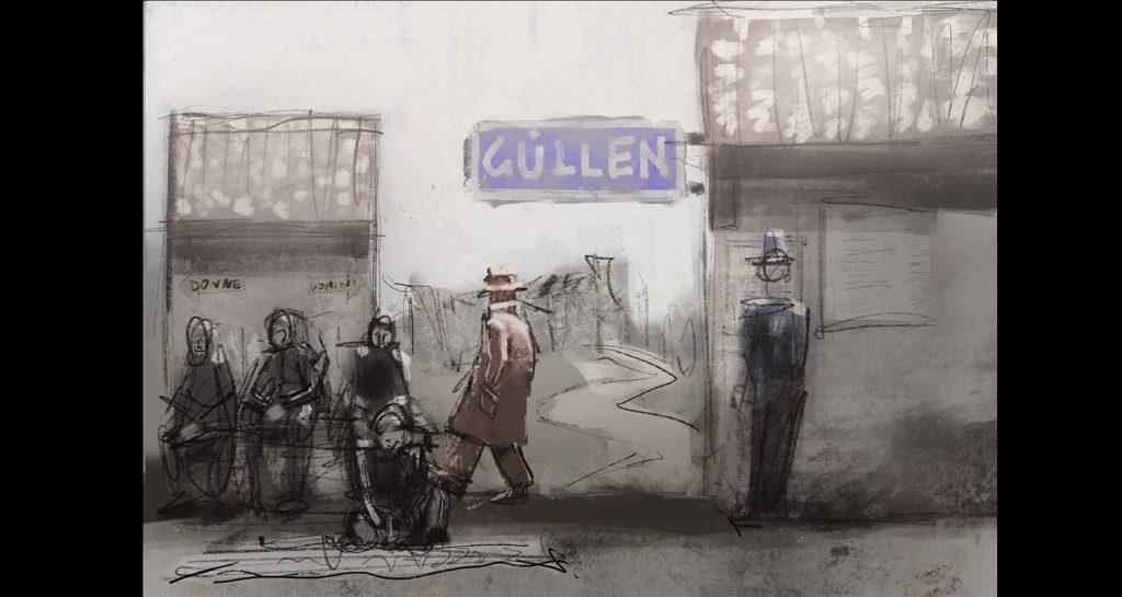 Atto 1 scena 1: stazione di Güllen