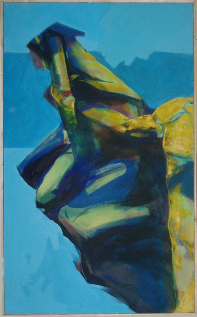 Cristiano Quagliozzi, Accademia delle Belle Arti di Roma - acrilico su telav