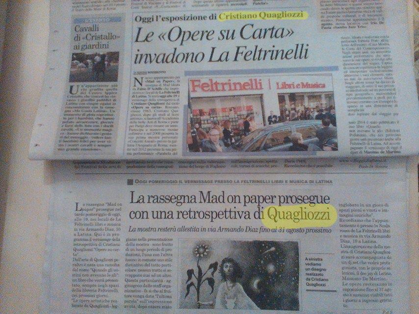 2014 27 Luglio Il Quotidiano di Latina 25 Latina Oggi