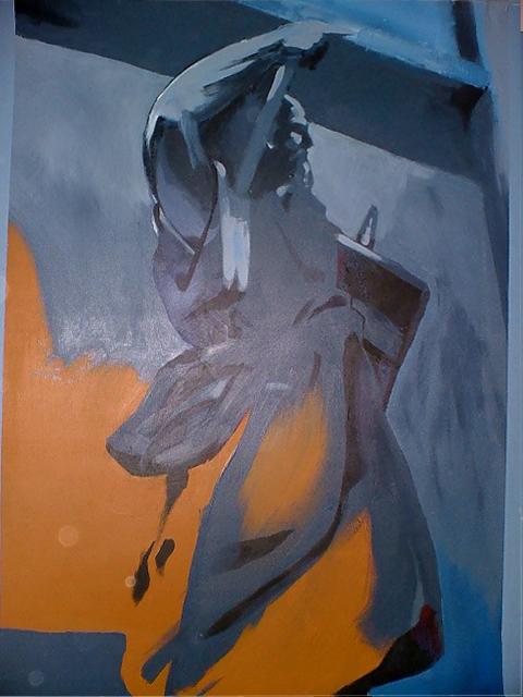 Cristiano Quagliozzi, Accademia delle Belle Arti di Roma - acrilico su tela