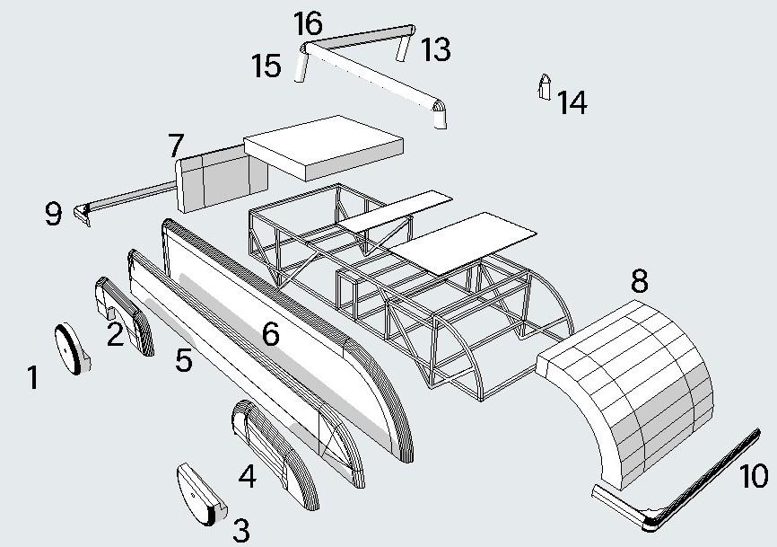 Progettazione per Opel Olimpia