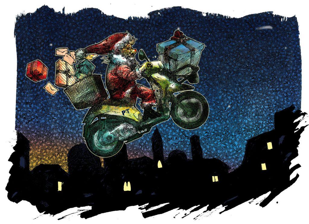 Bozzetto per Illustrazione di Cristiano Quagliozzi per Baiamonti