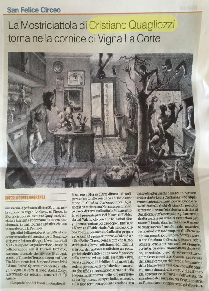 Latina Oggi 21 Agosto 2015