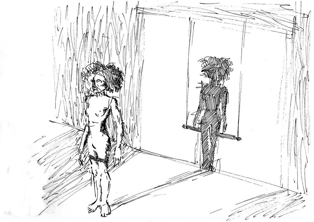 Essere in corso Progetto performativo di Fabiola Prato e Cristiano Quagliozzi