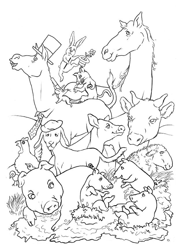 Illustrazione di Cristiano Quagliozzi per Filastrocche, di Silvia Forti