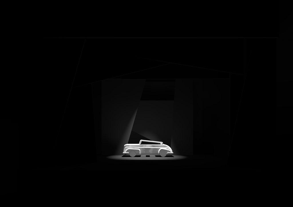 Scena 10: Automobile, rendering