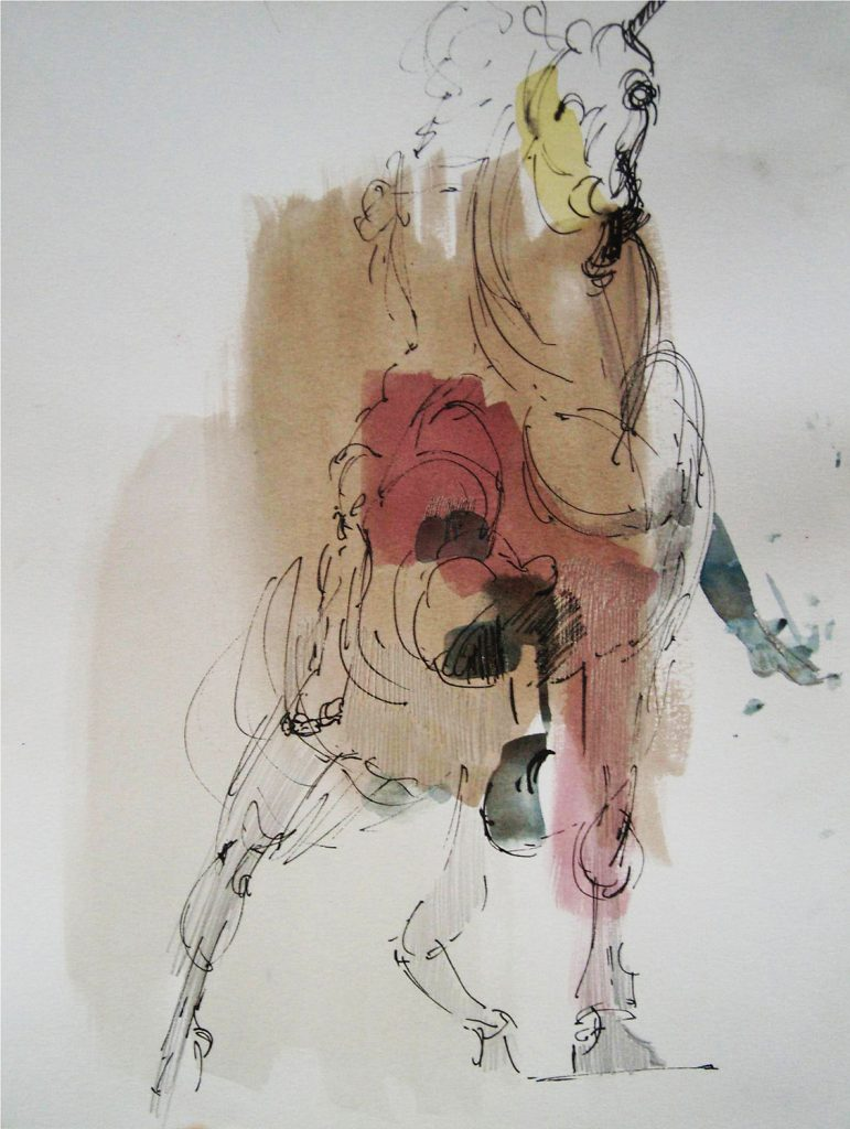 Cristiano Quagliozzi, Studio su statua di Roma 2015/16