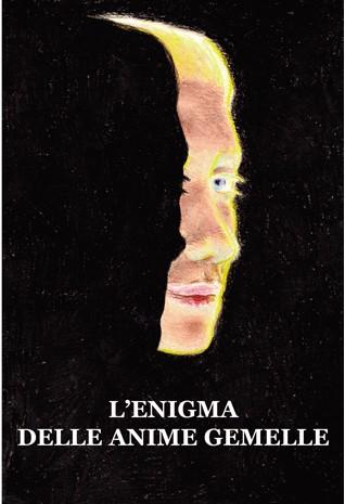 """Lucia Gilli Copertina del libro """"l'enigma delle anime gemelle"""" disegnata da Cristiano Quagliozzi"""