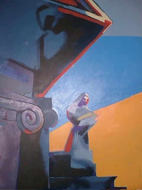 Cristiano Quagliozzi, Accademia delle Belle Arti di Roma - Olio su tela